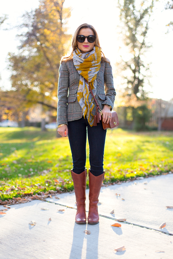Fall outfit--Frye boots