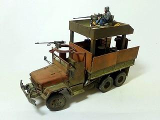 【玩具人'頭殼壞壞'投稿】Armed civilian GUN TRUCK (民用武裝卡車)