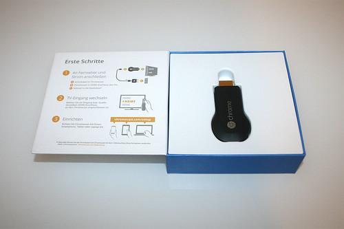 05 - Google Chromecast - Box geöffnet