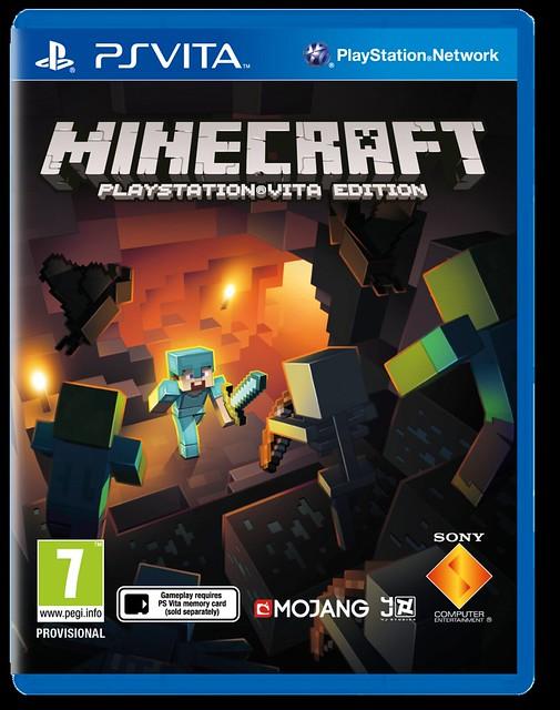 Minecraft PS Vita Edition выйдет на следующей неделе