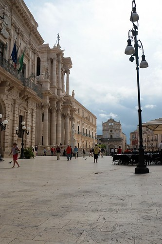 Ortigia: la piazza principale