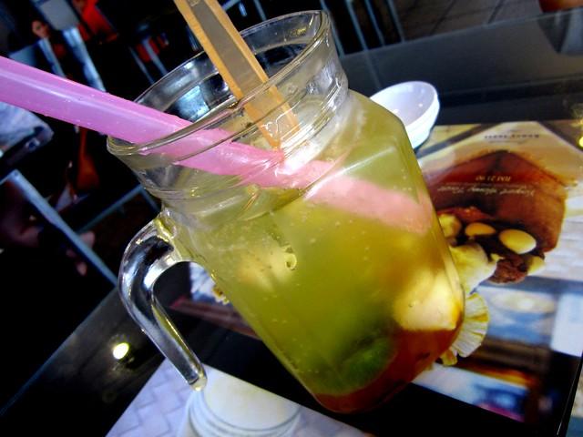 Noodle House mixed fruit soda