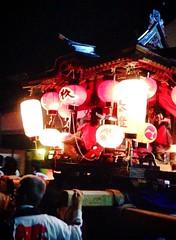 黒井兵主神社の宵宮の風景