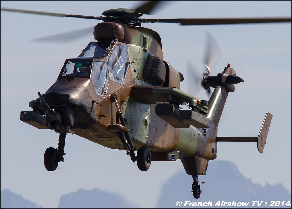 Tigre EC-665 HAP, Airbus helicopter, 60 ans ,ALAT, JPO Gamstat Valence Chabeuil 2014