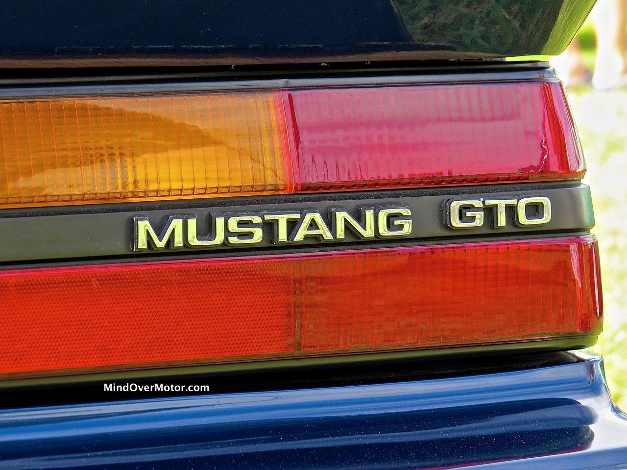 IMSA Mustang Badge
