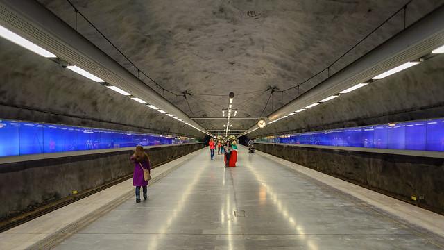 Bagarmossen metro station