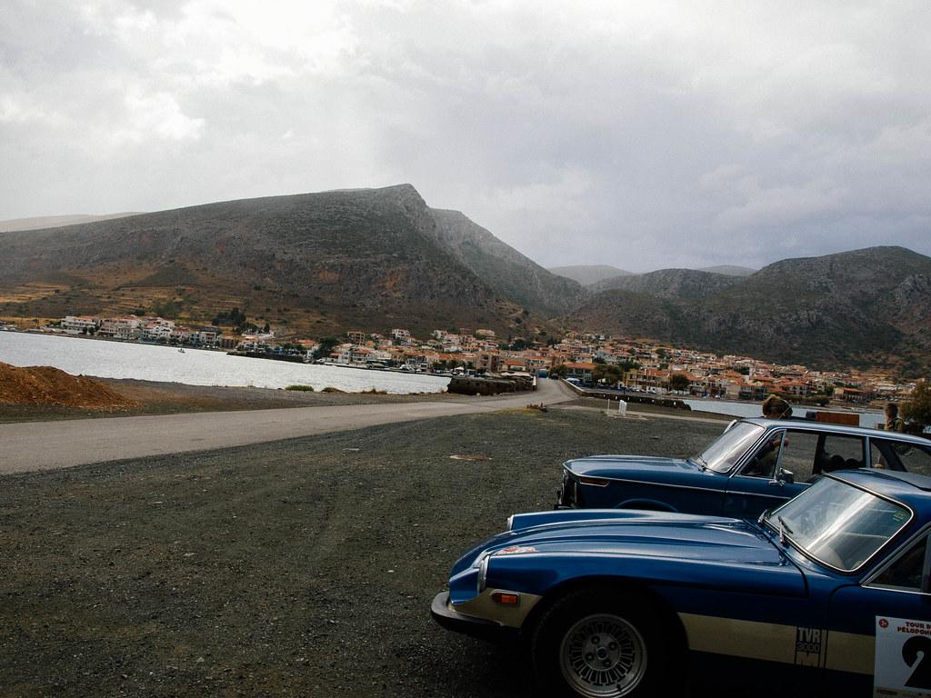 Cars in Monemvasia