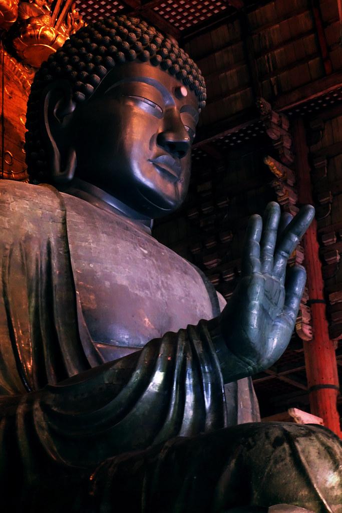 Buddha Vairocana (Daibutsu), Todaiji Temple, Nara (奈良市, Nara-shi)