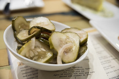 House- made Pickles, ThirstyBear Brewing Co., San Francisco
