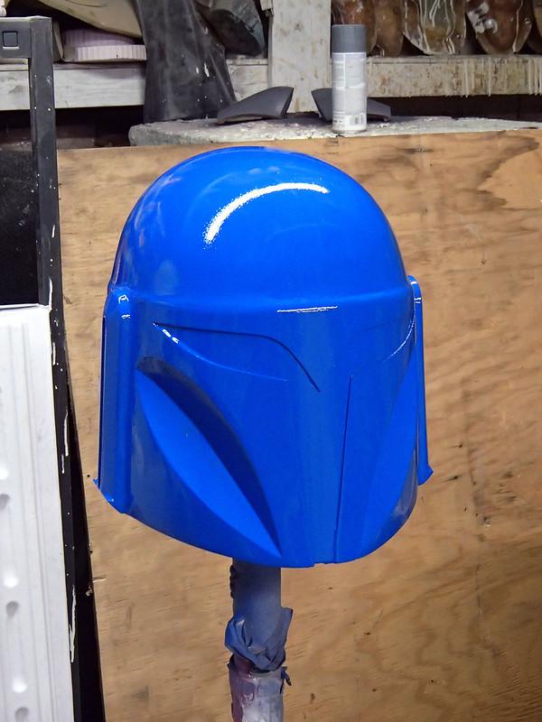 Nite Owl Helmet Prototype Front