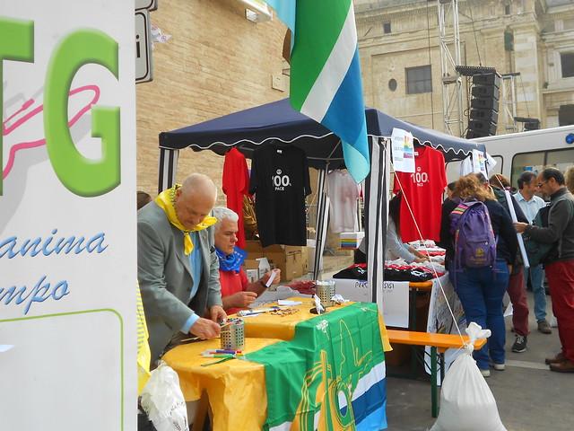 allestimento, Girandole per la Pace, Ctg, Assisi