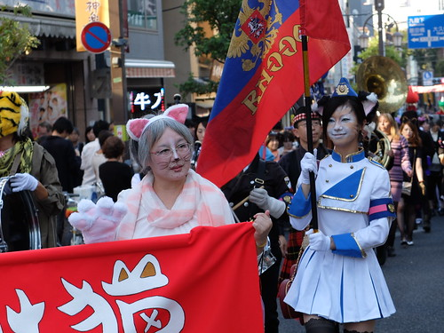 Kagurazaka Bakeneko Parade 2014-18