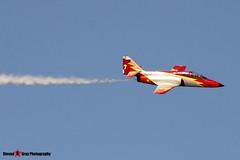 E.25-01 - EB01-01-01 - Patrulla Aguila - CASA C-101EB Aviojet - Fairford RIAT 2006 - Steven Gray - CRW_1206