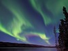 Northern Lights During Last Full Moon