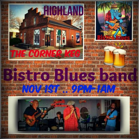 Bistro Blues Band 11-1-14