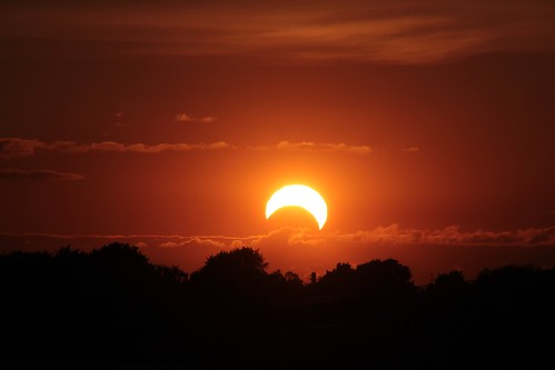 Partial solar eclipse, 2012