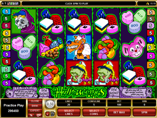 Halloweenies Slot Machine