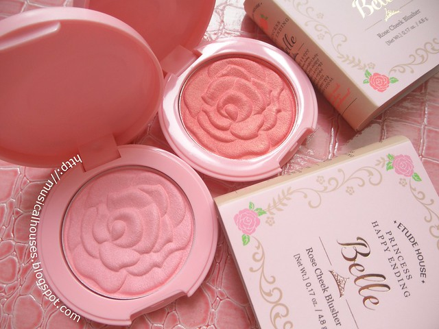 Etude House Disney Princesses Belle Rose Cheek Blusher