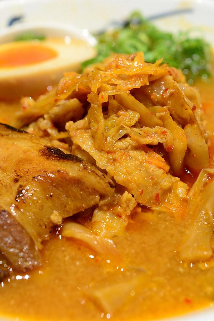 麵屋武藏 虎洞 韓式泡菜叉燒拉麵