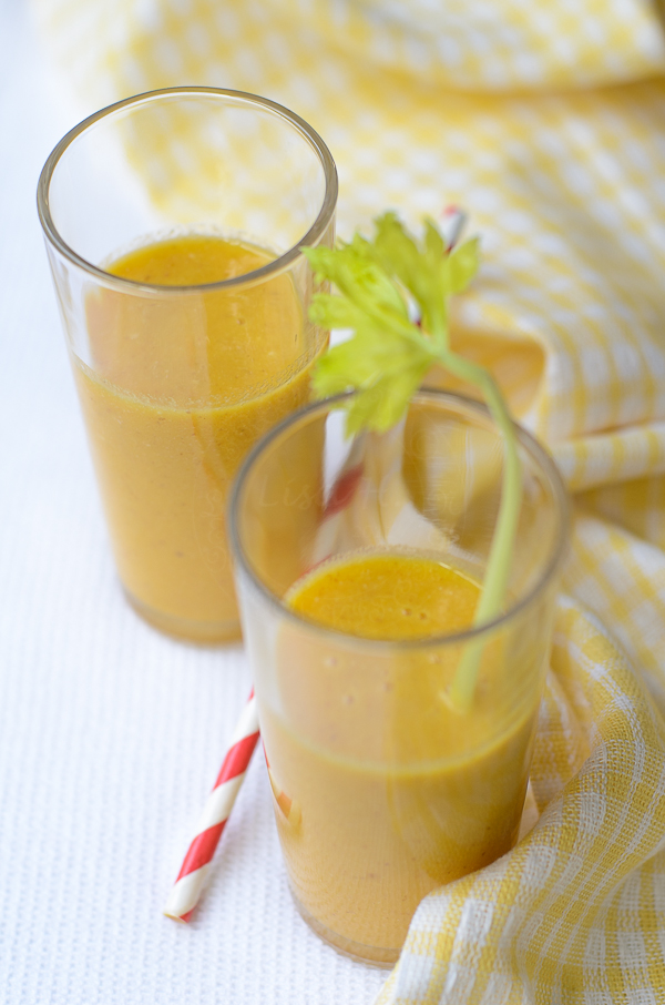 Gingerly Orange-Carrot Juice