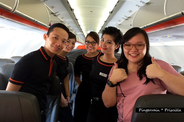 Jetstar Flight Crew and I