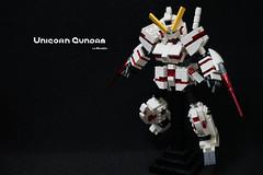 SD unicorn gundam