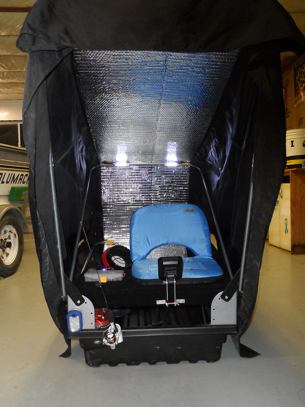 Helix hits the ice for Ice fishing battery box