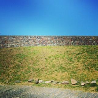 Ruínas das muralhas de Colônia