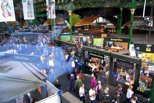 Borough Market from above