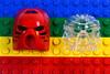 LEGO Bionicle Transparent Tahu Mask - Comparison