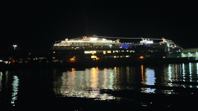 Regal Princess at Dock