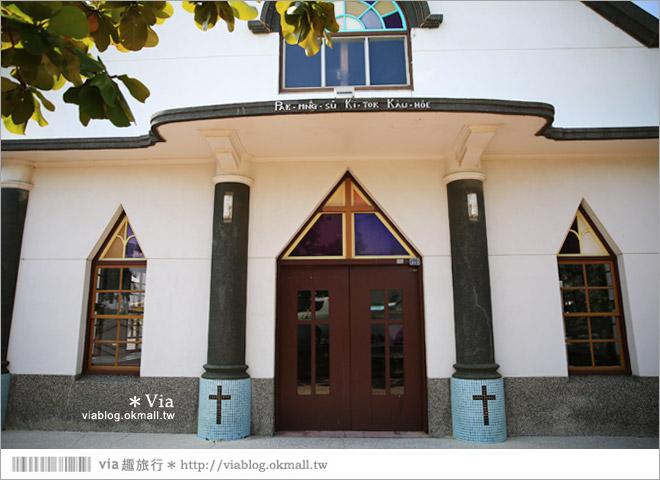 【北門一日遊】北門景點推薦~北門出張所+北門嶼基督教堂31