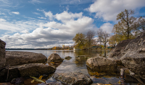 clouds princeedwardcounty autumn fall landscape nature lakeonthemountain glenora ontario