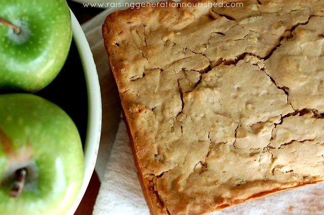 Sour Apple Breakfast Bread - Raising Generation Nourished
