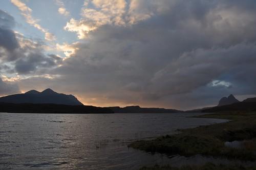 Cul Mor, Suilven & Cam Loch