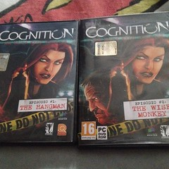 #cognition ep1&2 #videogame #videogamecollection