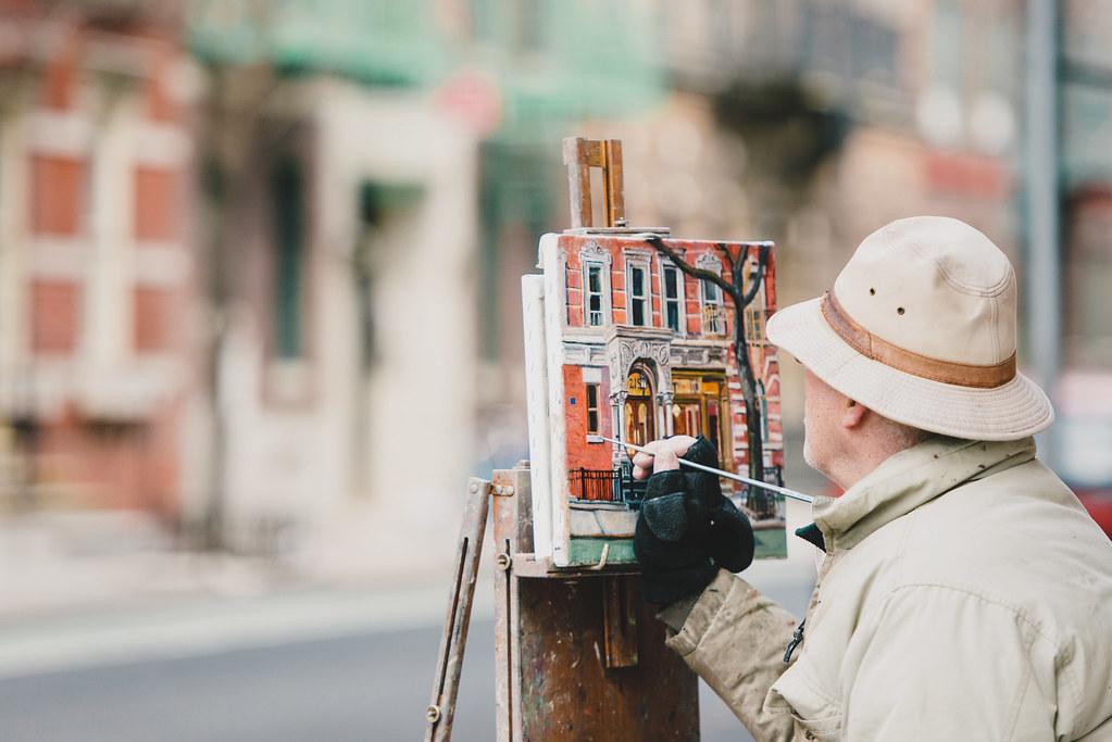 West Village painter