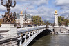 Pont Alexandre III (Looking Toward The Right Bank And The Grand Palais)