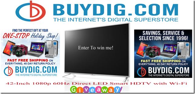 buydig tv giveaway