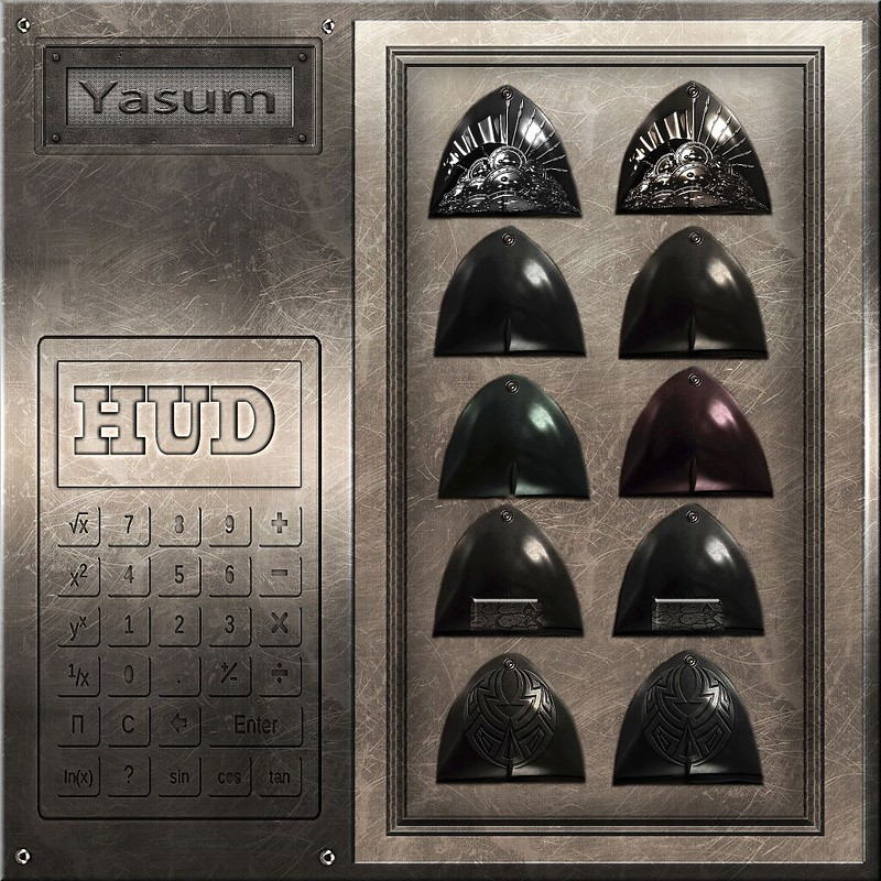 Goth Top Hud - Yasum