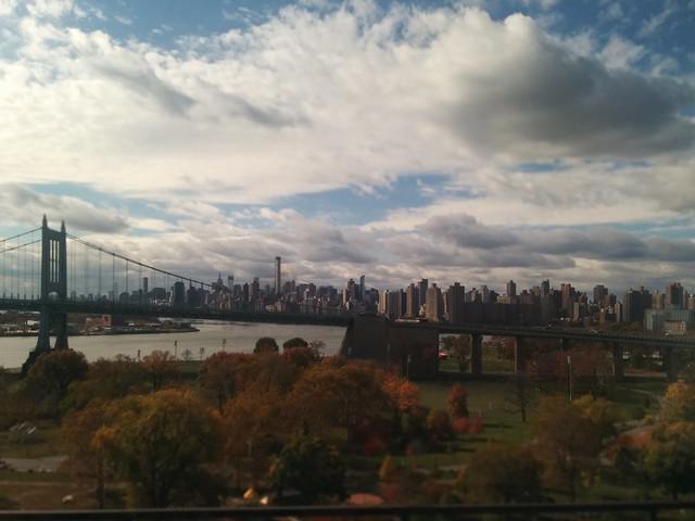 Train trip out of Manhattan