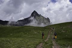 Con el Pico Anayet (2.545m) justo al frente