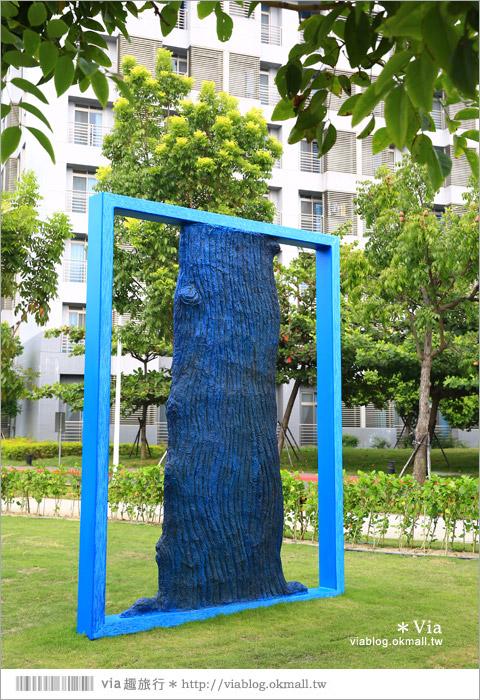 【南科幾米】台南|台積電南科幾米裝置藝術小公園~願望盛開‧許諾之地12