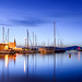 Small photo of Alghero: blue hour