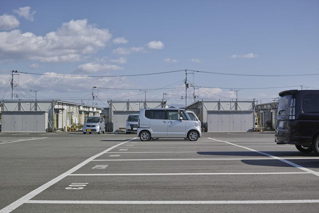 福島の仮設住宅