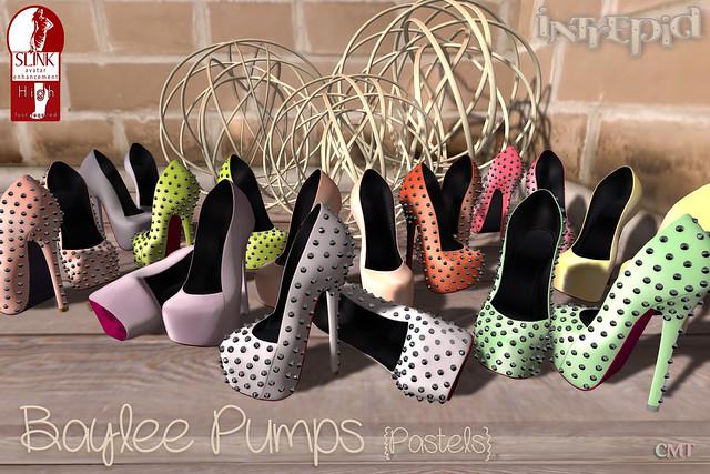 Intrepid:: Baylee Pumps - Pastels