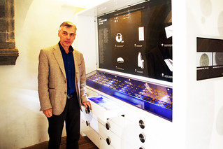 Estonian History Museum numismatic curator Dr Ivar Leimus