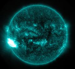 NASA's SDO Observes an X-class Solar Flare