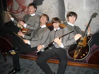 The Beatles at Madame Tussauds in NYC