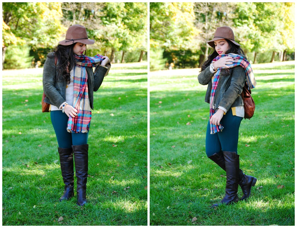 Target oversized multicolor fall blanket scarf